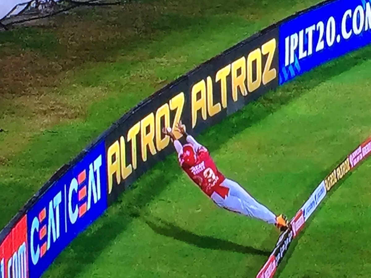 This is the best save I have seen in my life. Simply incredible!! 👍  #IPL2020 #RRvKXIP https://t.co/2r7cNZmUaw