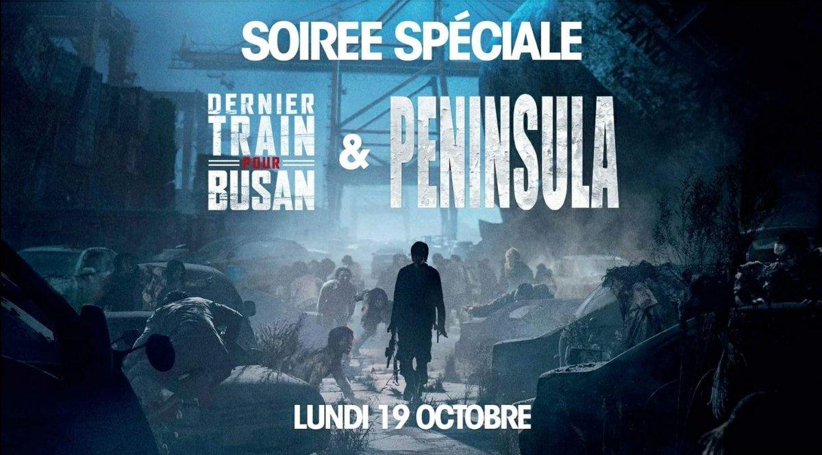 Rendez-vous le 19 octobre pour une soirée spéciale zombies 🧟♂️ en #GrandLarge avec l'avant première de #Peninsula  Billetterie ➡️ https://t.co/yhRLcrbRjb https://t.co/WEeZHsA5Da