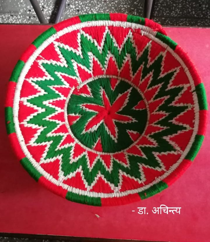 Not at all unthinkable ... atleast technologically! Let we draw our pleasure, paint our pleasure, and express our pleasure strongly! #MARVEL of #Handicraft from #Sitamarhi #Bihar.  #MarvellousIndia #Perfect #PhotoOfTheDay #Twitter #PictureOfTheDay @TwitterIndia #artist #FolkArt https://t.co/HN30jkYU6F