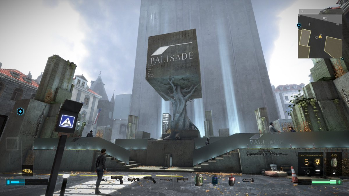 How corporate to build a giant, ugly monolith. #MankindDivided https://t.co/D4Ykfu0csn