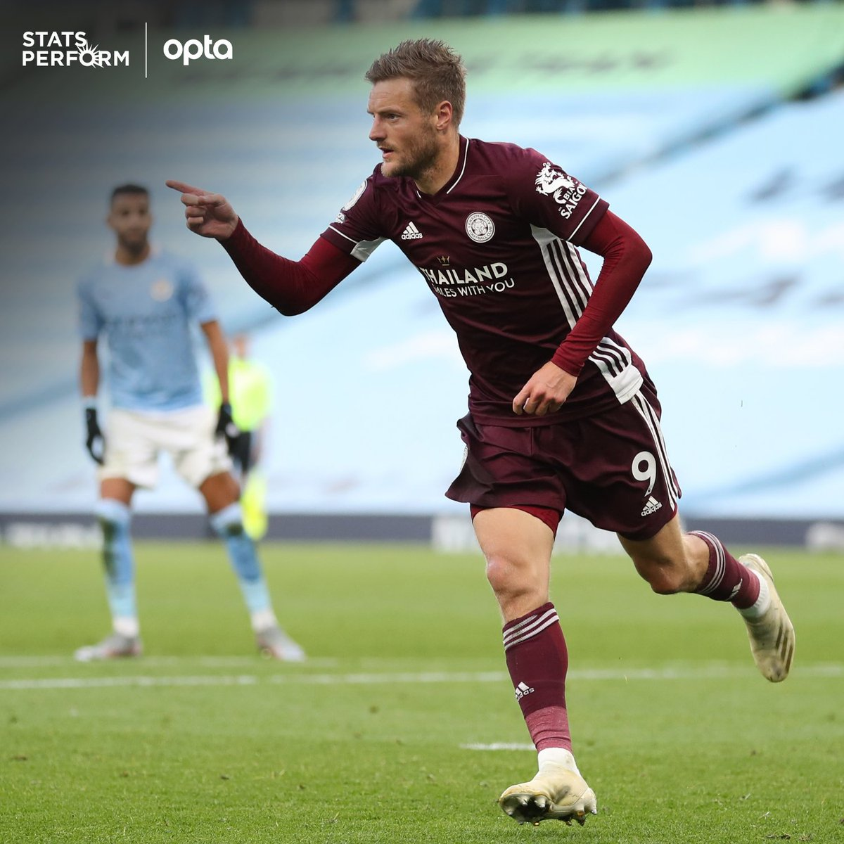 Optajoe On Twitter 2 2 Jamie Vardy Is The First Player To Win Two Penalties And Score Two Penalties In A Single Premier League Game Since Milan Baros For Liverpool