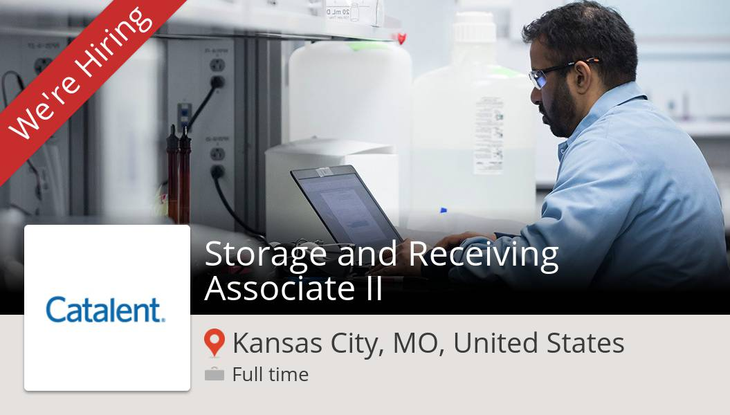 Storage and #Receiving #Associate II needed in #KansasCity at #Catalent. Apply now! #job https://t.co/0Dtmv9s2wY https://t.co/8qw0Ipuerp