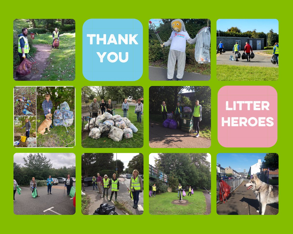 As our #gbseptemberclean comes to a close we wanted to say a bit thank you to all those who have taken part over the last couple of weeks. We have been inspired by all of you who have gone out to clean up your local community.#LitterHeroes https://t.co/LTahxOGuOy