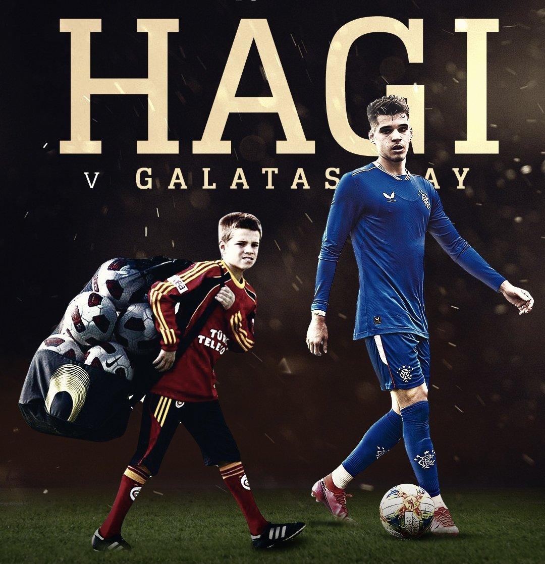 Rangers 5-0 dk 80 vs Motherwell  Hagi nin İstanbul doğumlu oğlu Ianis Hagi sahada   #Galatasaray  #IanisHagi #Hagi https://t.co/QTT9rpPHzK