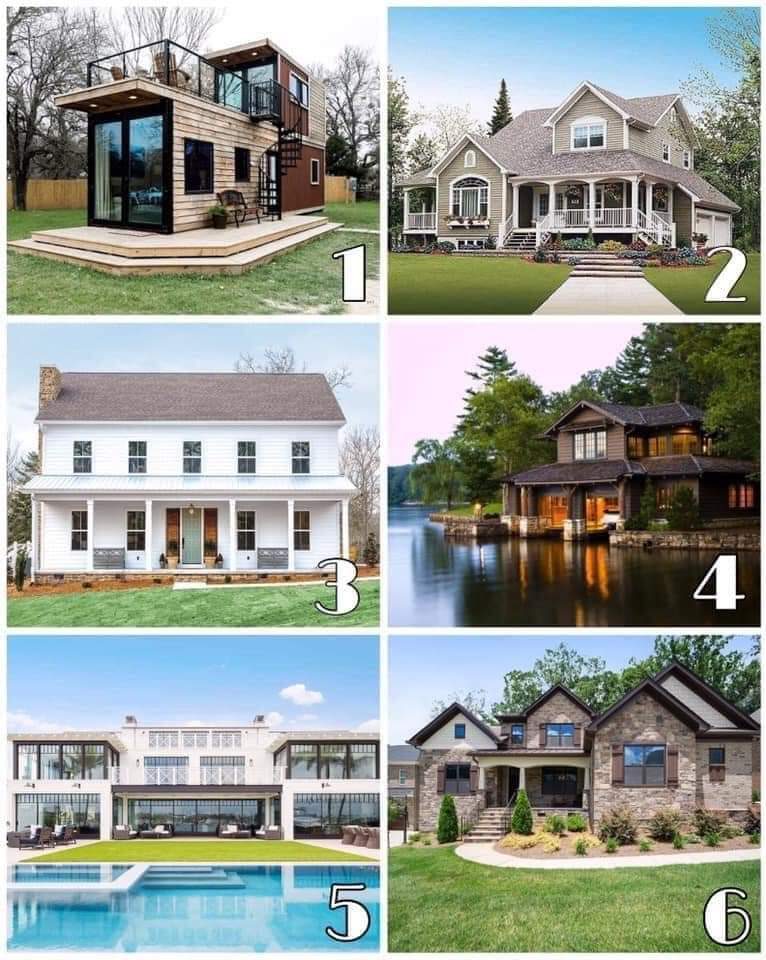 If money wasn't an issue, which house would you choose? 🤔 https://t.co/lYBA5Bcb3R