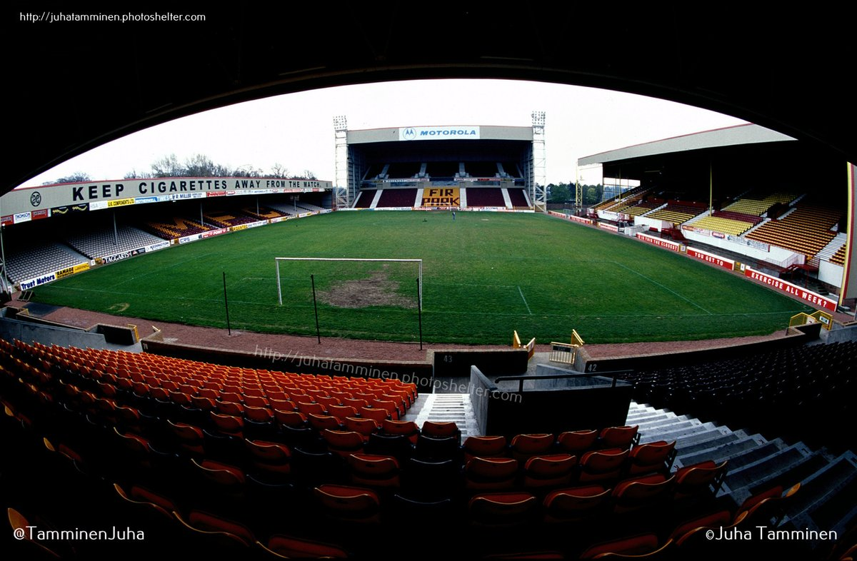 Fir Park, home of Motherwell Football Club, 19 April 1998 #FirPark #MotherwellFC #MFC @MotherwellFC