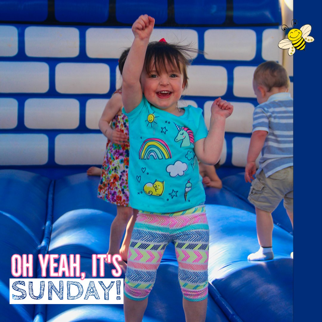 Have a great day!  Busy Bee Jumpers 781 447-8300 #WeDeliverFun #BusyBeeJumpers #BouncyCastle  #inflatables #Bouncehouse #Obstaclecourse #moonwalks #inflatablepartyrentals #jumpers #birthdayparty #Boston #SouthShore #slides #bouncehouserental #SudayFunday https://t.co/0pKdVXwE9c