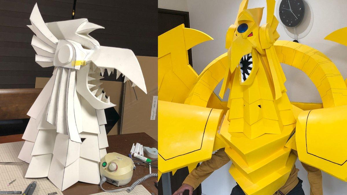 動画を投稿しましたラーの翼神竜の作り方