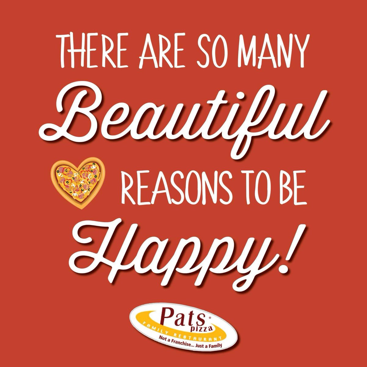 There really are SO many reasons. ☺️ #happysunday  #patspizza #bestpizzaintown #beautifulday #sundayvibes #sundaymood #positivity #quoteoftheday #pizzalover  #love #lovethis #pizza #quote #inspirational #lewesbeach #lewes #lewesde #lewesdelaware #rehobothbeach #rehobothbeachde https://t.co/rJY1HmwPsg