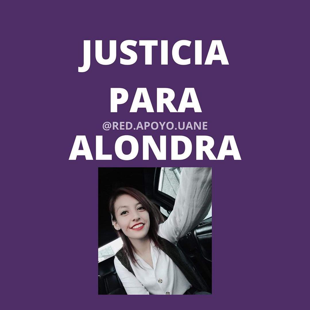 ¡Las mujeres tenemos derecho a vivir seguras y en paz! ¡Esto tiene que parar! #JusticiaParaAlondra #JusticiaParaKaren #JusticiaparaJessica https://t.co/9Y1E6L88gW