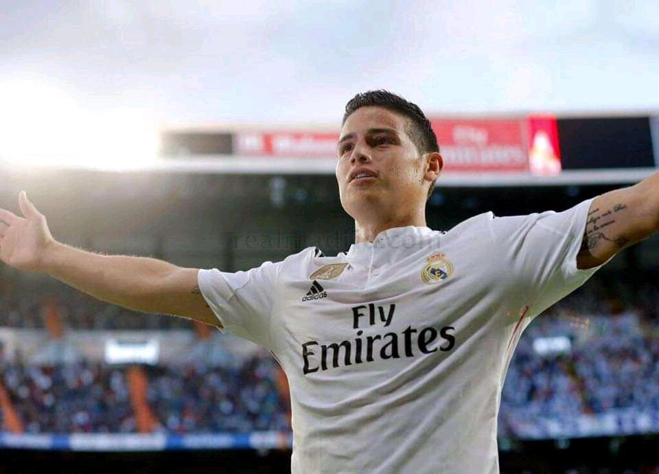 Busting the narrative that James Rodriguez struggled in La Liga.  (thread)