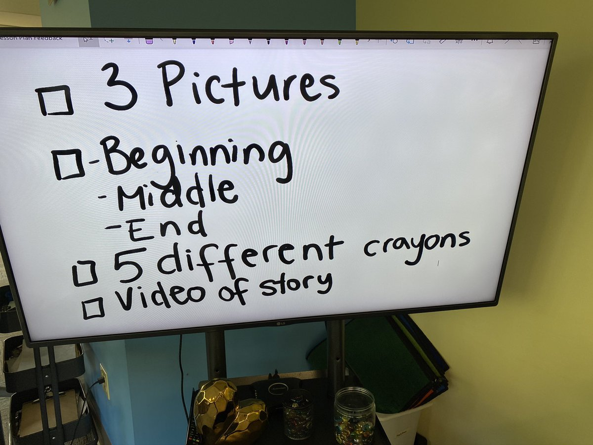Kinderprep and Kinder students drew a story last week then used their @surface to record retelling their story! @MicrosoftEDU #K2canToo #MIEexpert https://t.co/6x15yhSlUd