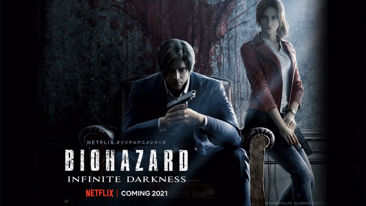 Resident Evil: Infinite Darkness CG series coming to Netflix in 2021 https://t.co/aLhfZXNi1H https://t.co/2rfyjFrDr3