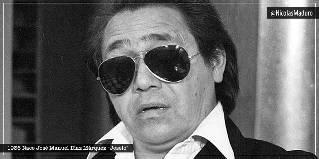 Recordamos el nacimiento de uno de los humoristas más queridos de Venezuela, José Manuel Díaz Márquez. El gran Joselo, símbolo del humor venezolano que mostró las injusticias del puntofijismo a través de sus programas, sembrandose en la memoria colectiva de nuestro pueblo. https://t.co/SLHh8c8Ghy