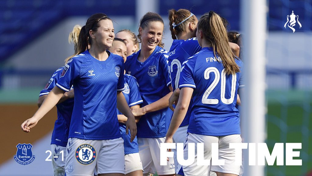 Everton Women On Twitter An Incredible Afternoon At Goodison We Re Into The Womensfacup Semi Final Utt
