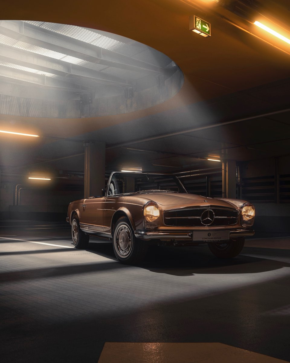Ready for a drive with the Mercedes-Benz 280 SL? This restored pagoda from #alltimestars has a top speed of 195 km/h to offer and convinces with its chic black interior. Make it yours! https://t.co/sgF8GiBpnN @MB_Museum  #MercedesBenz #daimler #thebestornothing #MBclassic #w113 https://t.co/bJUOY7BEZa