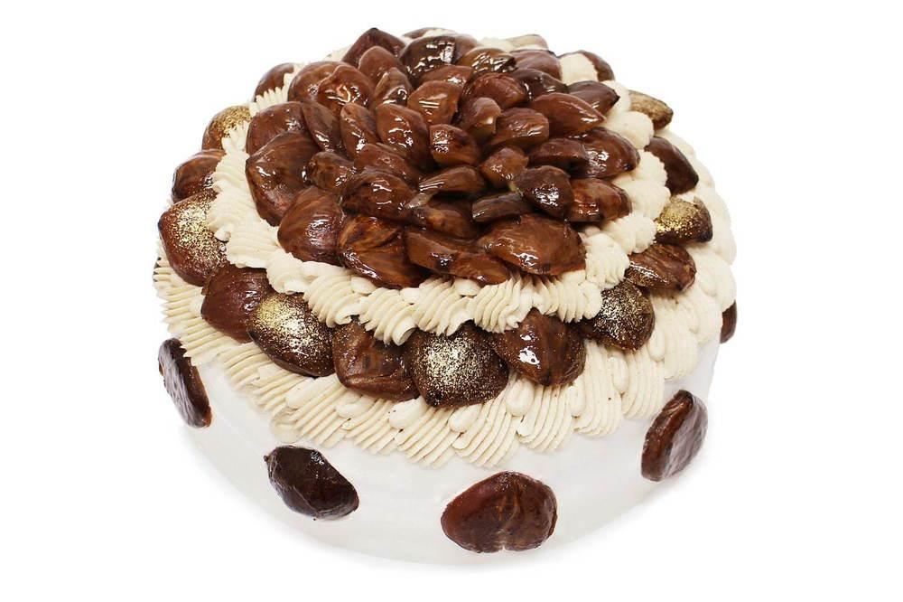 カフェコムサにショートケーキ集結、天皇献上品の高級和栗&旬のいちじくや柿をのせた贅沢ケーキ -