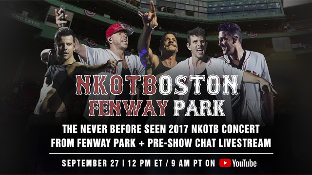 So much buzz for this... just a couple hours away!!!  I've seen @LiveNation @LiveNationNE @OTLPresents and @Mix1041 promoting it 🤯🤩💕. So excited the guys are doing this for us!!🎉🙌😍🥰❤️ #BHLove #Thankful4NKOTB #NKOTBOSTON #NKOTBFenway #NKOTBLive #NKOTB #JordanGirl #TPT https://t.co/9oqsbF7An3