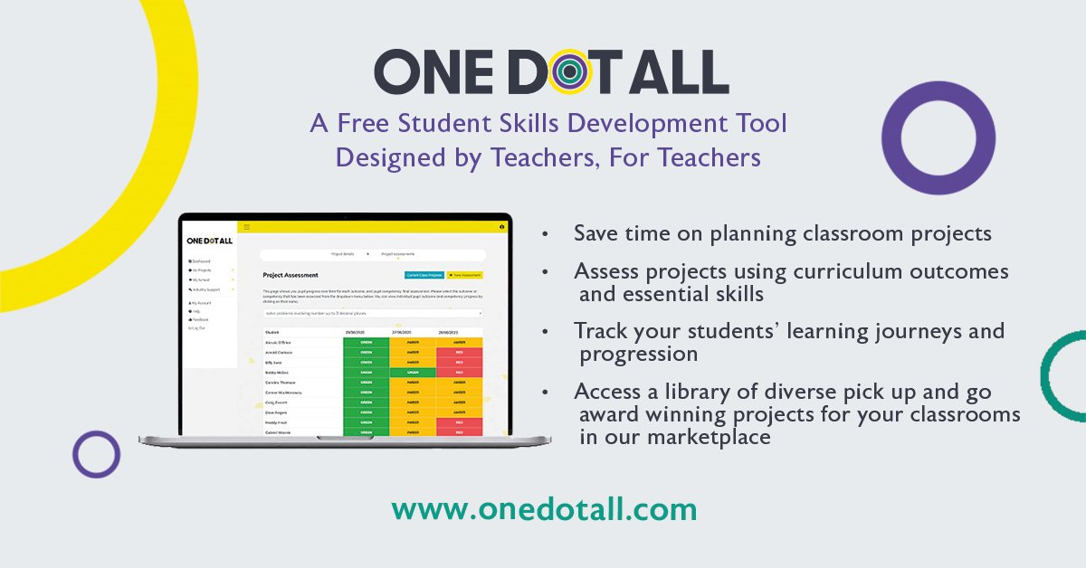 Here's some of the reasons why teachers are signing up for OneDotAll®. Find more reasons at https://t.co/wOgTQZTLPW.  #teacher #education #classroom #school #stem #teaching #classroommanagement #teachingideas #primaryteacher #secondaryteacher #prmaryschool #secondaryschool https://t.co/LA5x2A1QZE