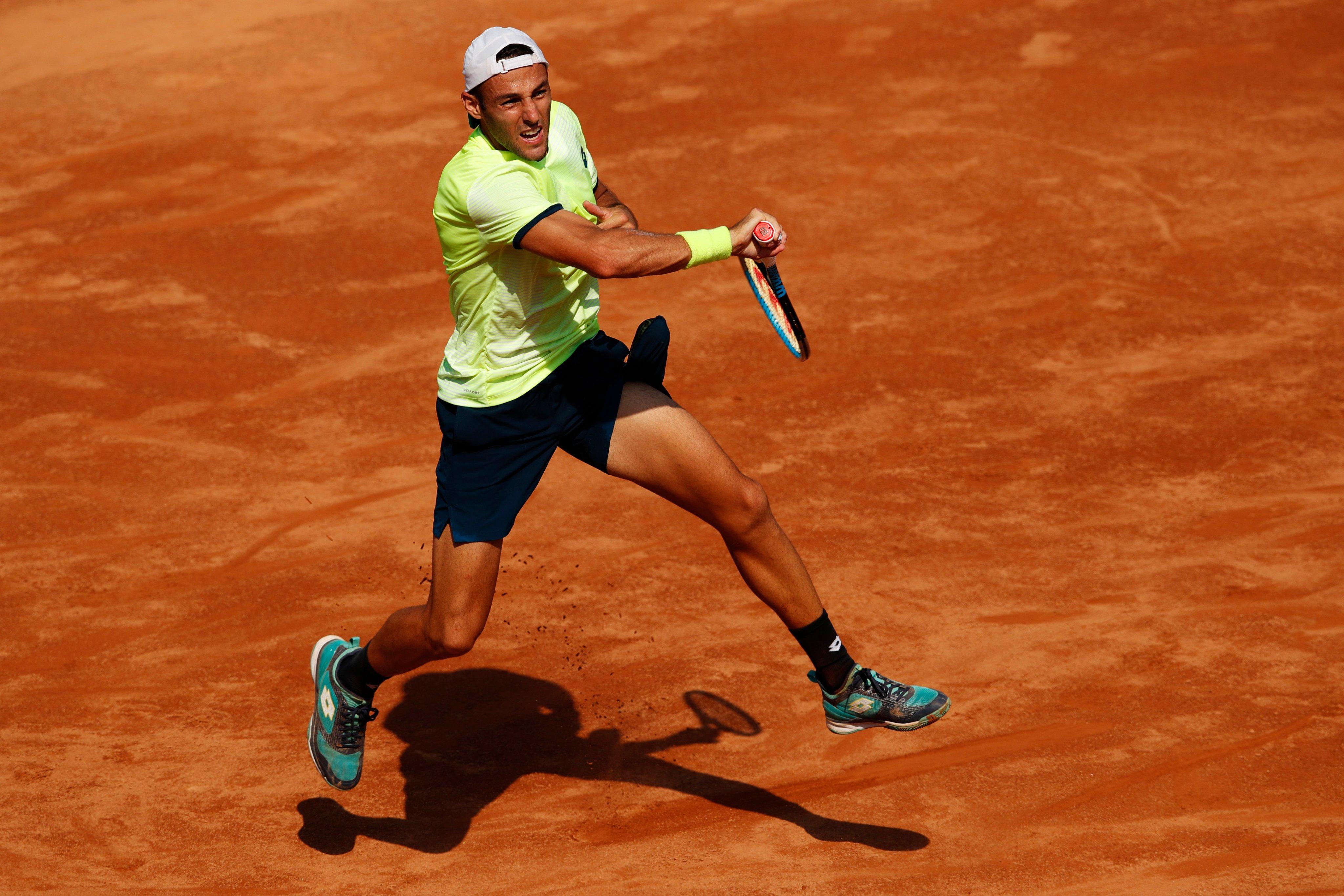 Stefano Travaglia al Roland Garros 2020