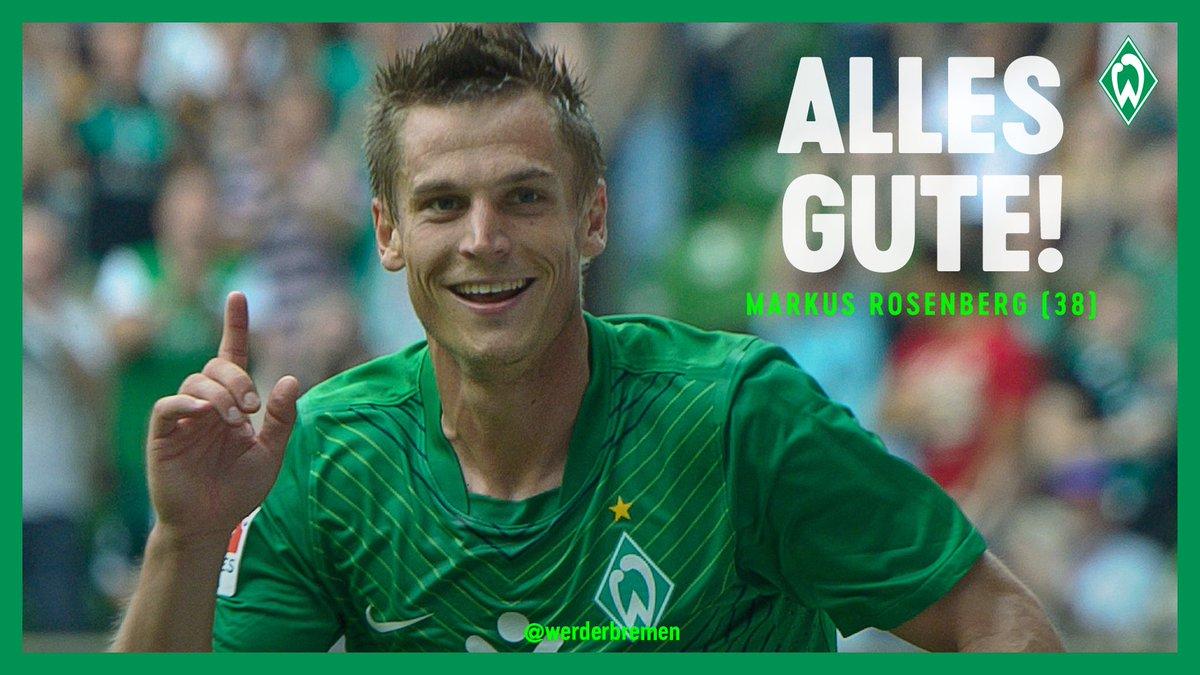 Grattis på födelsedagen, @M_Rosenberg82! 🎉🎈  #Werder https://t.co/D4ufRchUyW