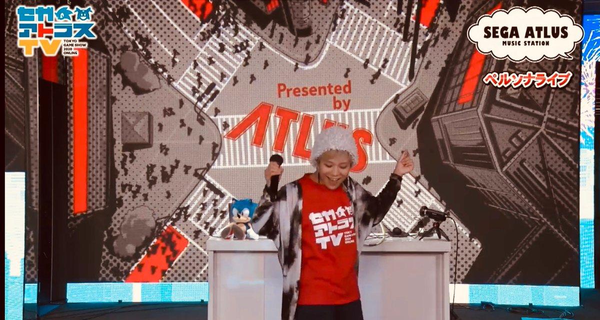 #TGS2020 セガアトラスTV 「SEGA ATLUS MUSIC STATION~FINAL」配信中!おまたせLynさん登場! #P5R