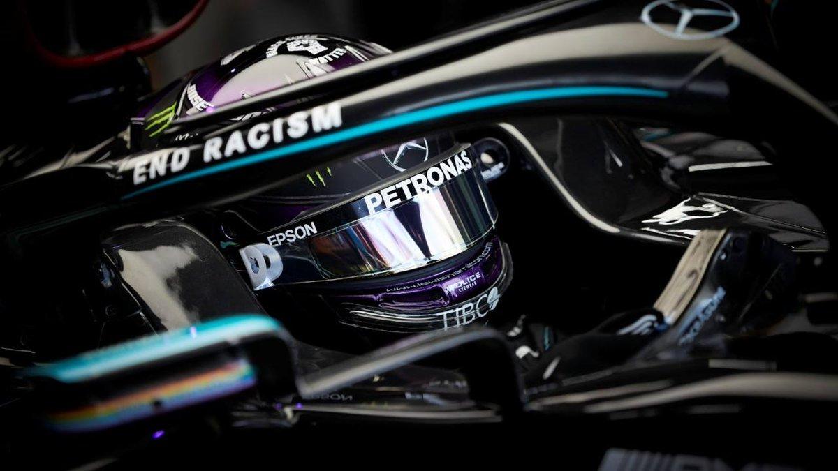 #F1 | Lewis Hamilton, a sólo dos puntos de ser suspendido por un GP.  ➡️  https://t.co/M50E5gg9Jy  #Fórmula1 #F12020 #RussianGP @LewisHamilton @MercedesAMGF1 https://t.co/xO4JUY8x4j