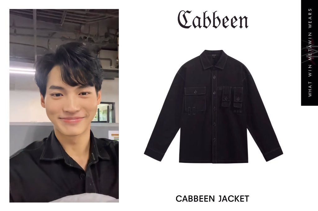 ✨Win Metawin wears  🧥 CABBEEN JACKET   💵699 CNY (3,300THB)  📷 IGS pimwalee   #cabbeen #winmetawin #วินเมธวิน #whatwinmetawinwears #snowballpower https://t.co/3V0WblcPRB