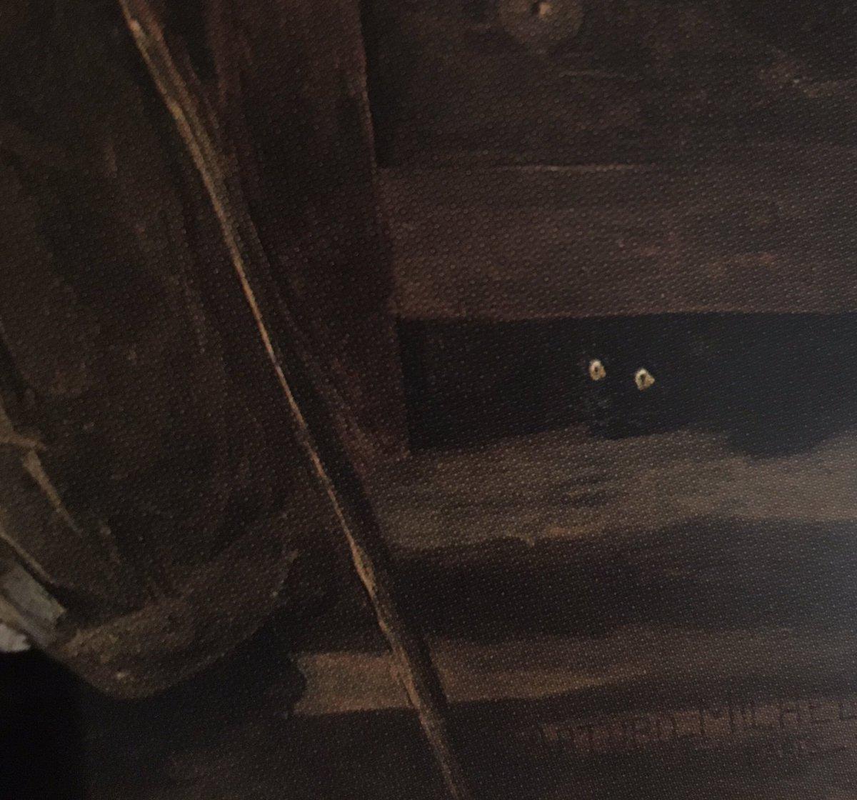 """Gatito asustado. Detalle del cuadro """"El granizo de Reims"""" (1886) del pintor venezolano Arturo Michelena #arte #pinturavenezolana #venezuela #vzla #gatos #curiosidades #datocurioso #felizdomingo #27Septiembre https://t.co/hOaxOmprpH"""