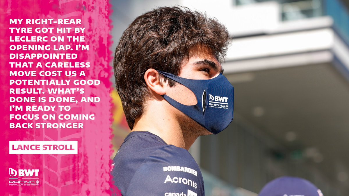 It was a case of what might have been for @lance_stroll  after unfortunate first-lap contact 😞 Now it's all eyes on Germany 🇩🇪  #RussianGP #F1 https://t.co/nhnytbR0pK