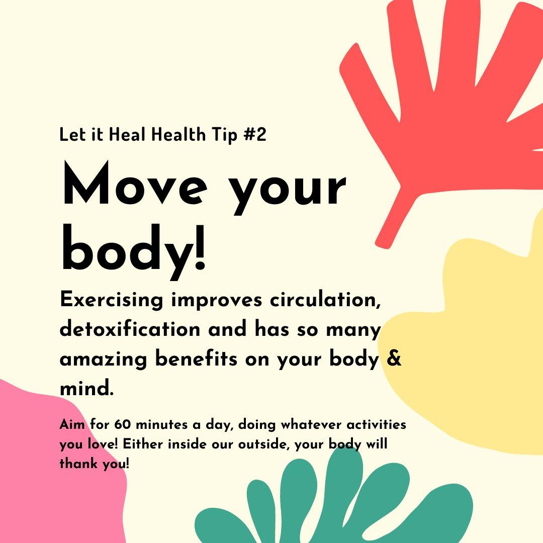 This weeks health tip!!   #dtburlon #bowen #move #workout #heal #letitheal #naturalhealth #detox #burlington https://t.co/FCim024VQT