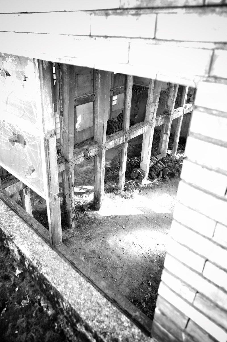Side quest.  #bn #bnw #blackandwhite #bw #life #sunny #highkey #broken #window #climbing #wall #urbex #abandoned #decay #exploration #blackwhitephotography #monochrome #blackandwhitephotography #blackandwhitephoto #bwphotography #monochromatic #bnwphotography #abandonedplaces https://t.co/wHbSrYKJFg