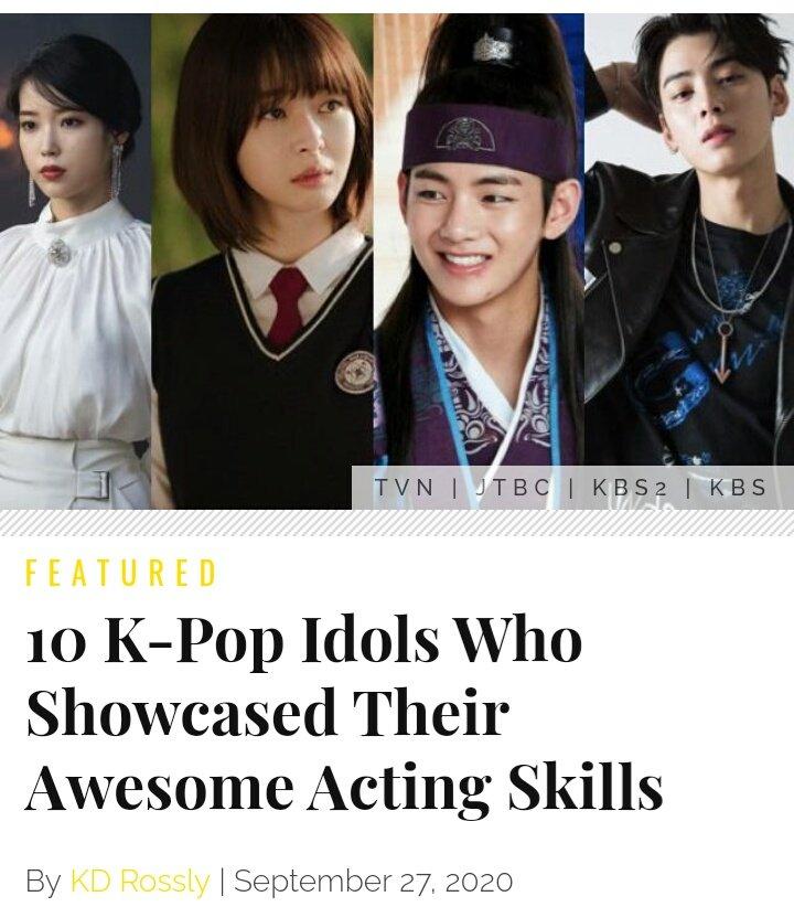 200927    [Article] 10 K-Pop Idols Who Showcased Their Awesome Acting Skills ✨   #KwonNara is included in the list. ❤  source: https://t.co/9KkyR0PjY4  #KwonNara #권나라 #ItaewonClass #OhSooah #이태원클라쓰 #HongDain #SecretRoyalInspector #Amheongeosa #암행어사 https://t.co/Ehq1S94Ygj