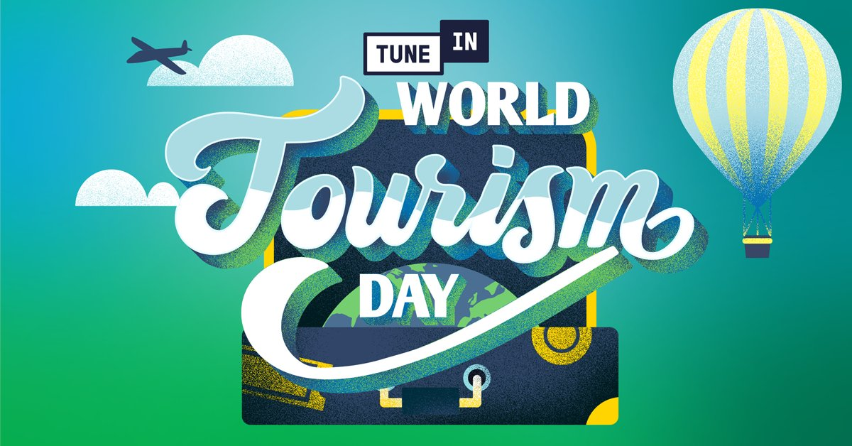 September 27 is #WorldTourismDay! 🗺📻🎶 Take your ears on a musical tour of new lands and cultures with #TuneIn's rich library of AM/FM radio stations from around the globe: https://t.co/YYBFfzzQ4C https://t.co/nyvy0bn3tT