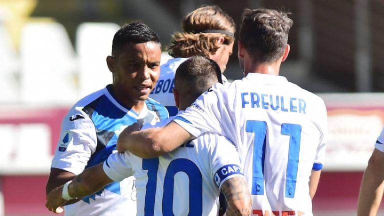 Derechazo de Muriel en Torino 2 Atalanta 4: https://t.co/hXNzgL7YbE #GOLESco #LuisMuriel #Muriel #Futbol #SerieA #Atalanta #Goles #Gol https://t.co/mq9DfpmA5j