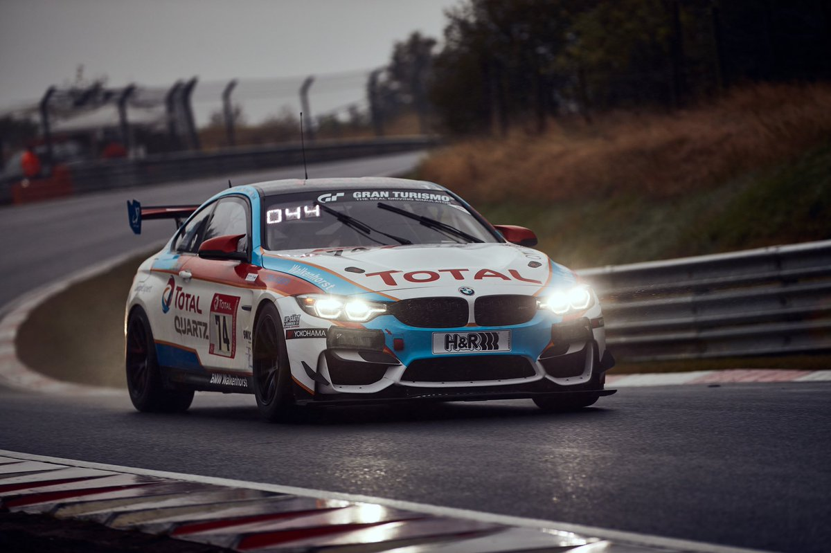 Massive thanks to @Walkenhorst_MS, we finished the Nurburgring 24h! Amazing achievement for the #74 crew in far from ideal conditions. Happy that I was able to take the two starting stints both yesterday and this morning for the race re-start after the red flag! #24hNBR
