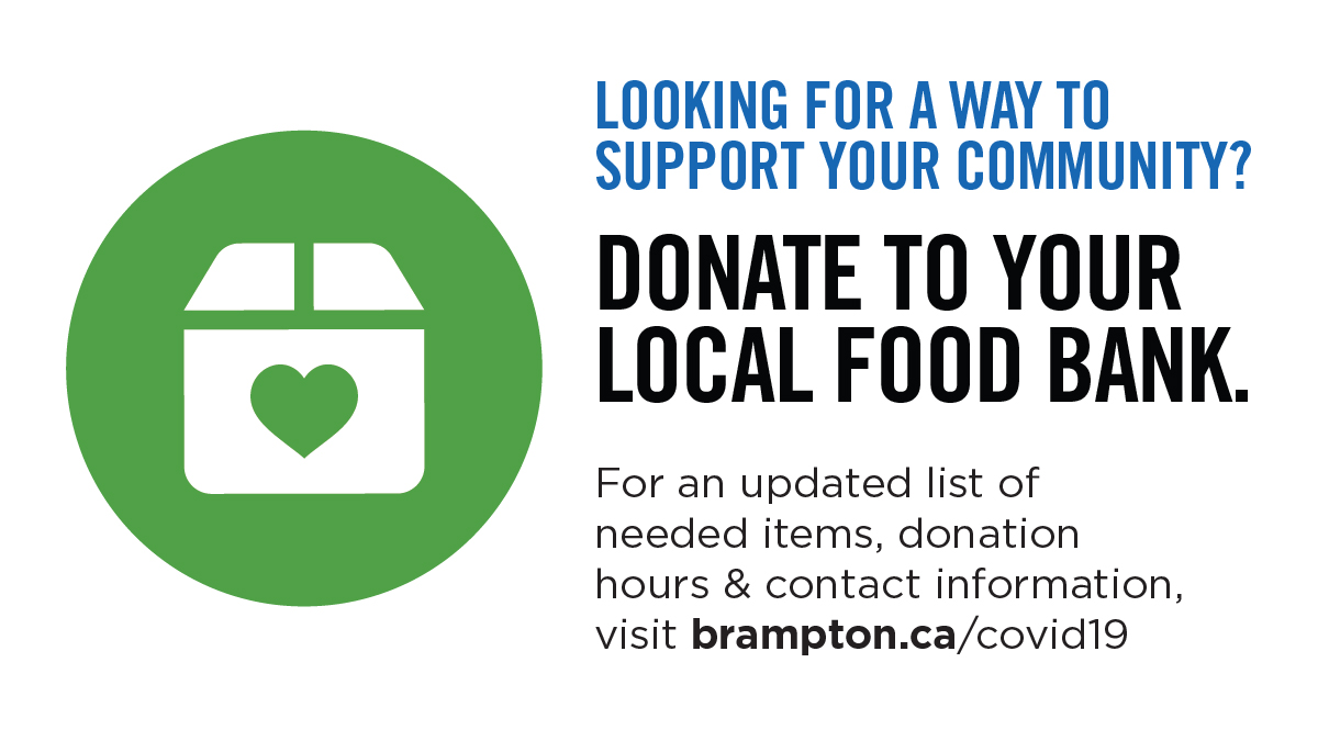 It's important that we support each other during this trying time.❤️  Donate to your local food bank to get food to those in need. This initiative is led by our COVID-19 Social Support Task Force. View the list of needed items and drop-off locations: https://t.co/4SmUmVHGSt https://t.co/9Bg5AadTqU