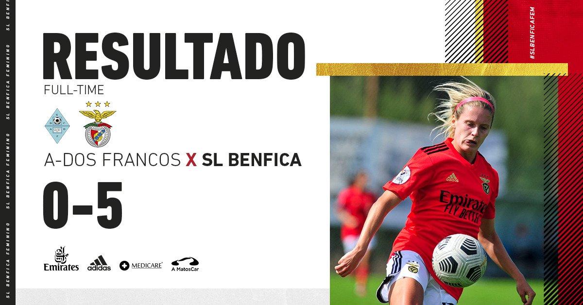 ⚽️♀️ liga 🇵🇹 #jornada1 #ADFSLB #PrimeiroLugar https://t.co/XyNwBU7U9n