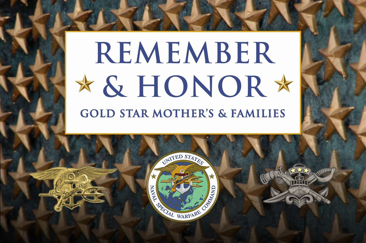 #HonorThem this Gold Star Mothers and Families Day and every day. #sacrifice #service https://t.co/dBe6f80M38