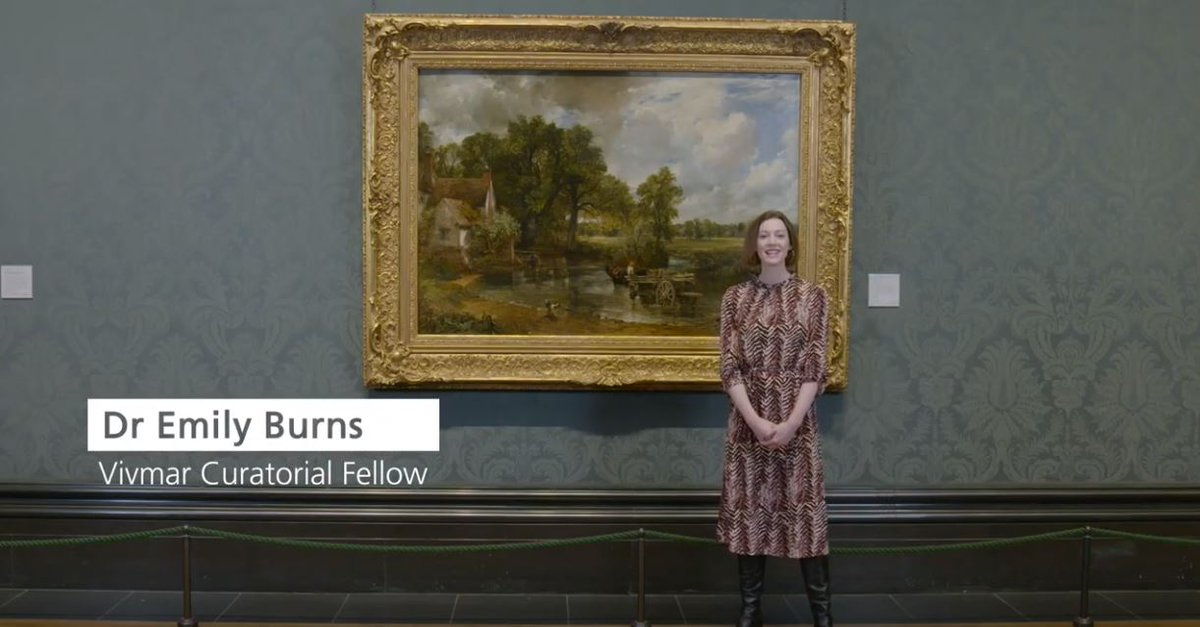 What made John Constable's 'The Hay Wain' so radical for its time?  Vivmar Curatorial Fellow Emily Burns explains Constable's groundbreaking use of colour and skilled composition, and how he set about painting this masterpiece in only 5 months: https://t.co/YIZZCn5asf https://t.co/fqh8jwSJvs