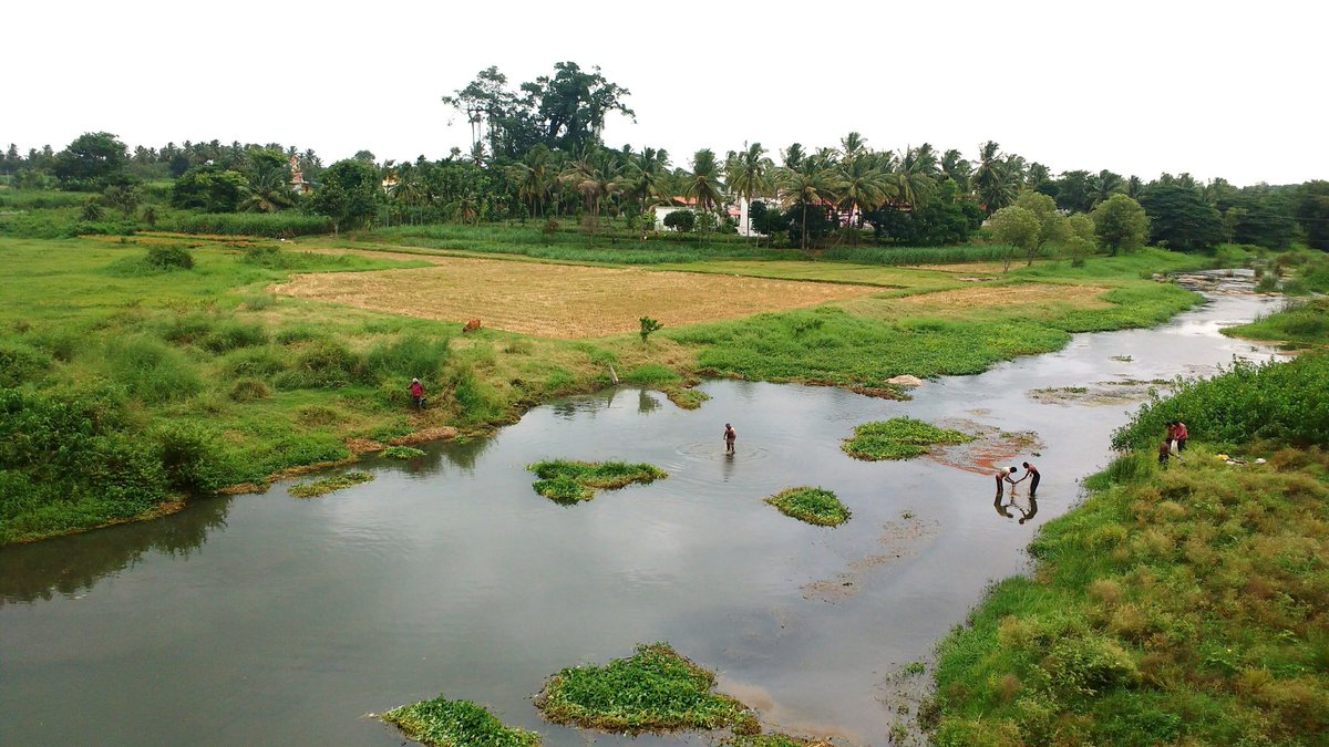 The Lokapavani #WorldRiversDay A tributary of the Kaveri. What a beautiful name. She who sanctifies the people. https://t.co/ZkRGFBZupQ