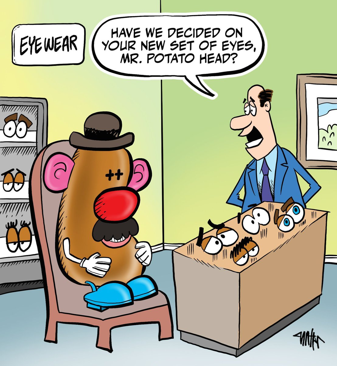 test Twitter Media - See more Optic Relief content here: https://t.co/g4sFyd5TvW #ophthalmology #opticrelief #cartoon #eyecare https://t.co/fxwBSqwj4v