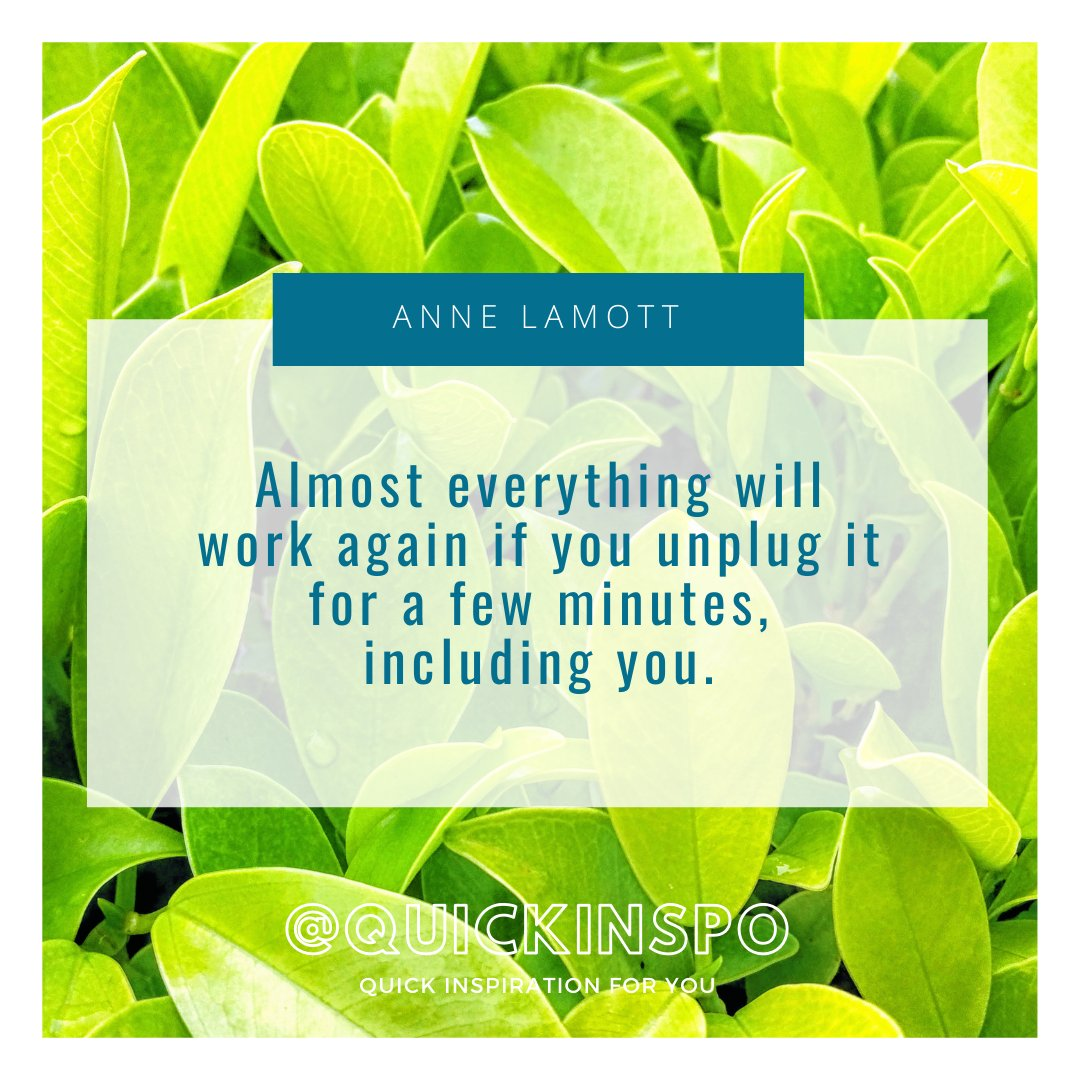 Replying to @Quickinspo: Self-care is so important and necessary!❤️ @ANNELAMOTT