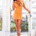 Image for the Tweet beginning:  #italian #escort Ally Blessed with long