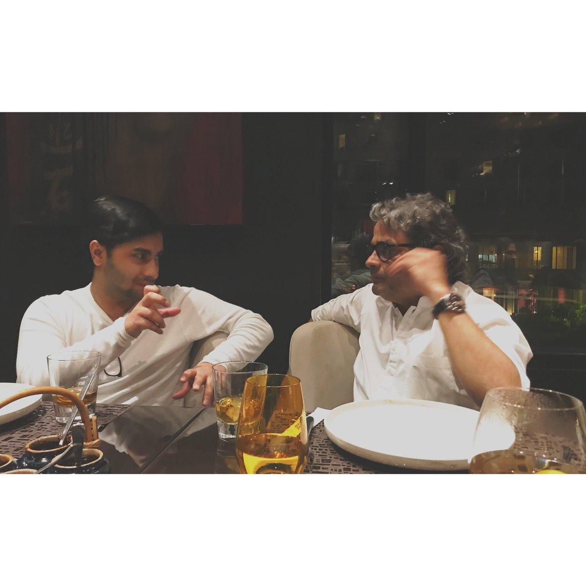 We were probably talking about a film #throwback @VishalBhardwaj  📸 @rekha_bhardwaj https://t.co/GWSryQDxuS
