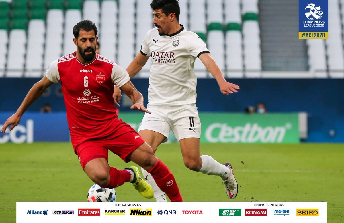 End of the road for Baghdad Bounedjah and Al-Sadd in the 2020 AFC Champions League, Al-Sadd lost 1-0 to Iran's Persepolis, a loss that could spell the end for Al-Sadd's coach Xavi https://t.co/upJ0TZlpu3