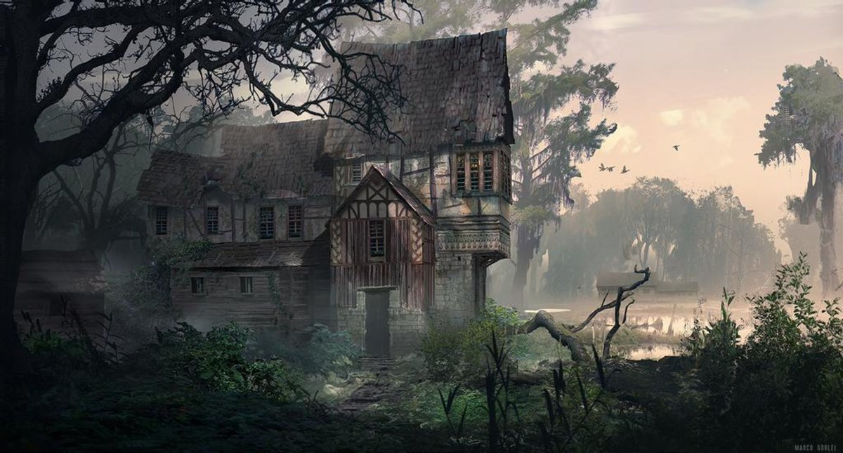 House in middle of nowhere appears abandoned but in truth houses a few brave outlaws that use it as a base while hiding from the witches that actually live in the house  #deadlands #rpg #dnd #rpgHook Deadlands by MvGorlei on @DeviantArt https://t.co/EaPMJoDtGh https://t.co/2iRTpjbjNC