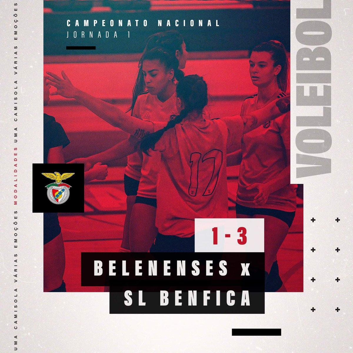 🏐♀️ #liga #jornada1 #CFBSLB #PrimeiroLugar https://t.co/UYRmHkCYwN