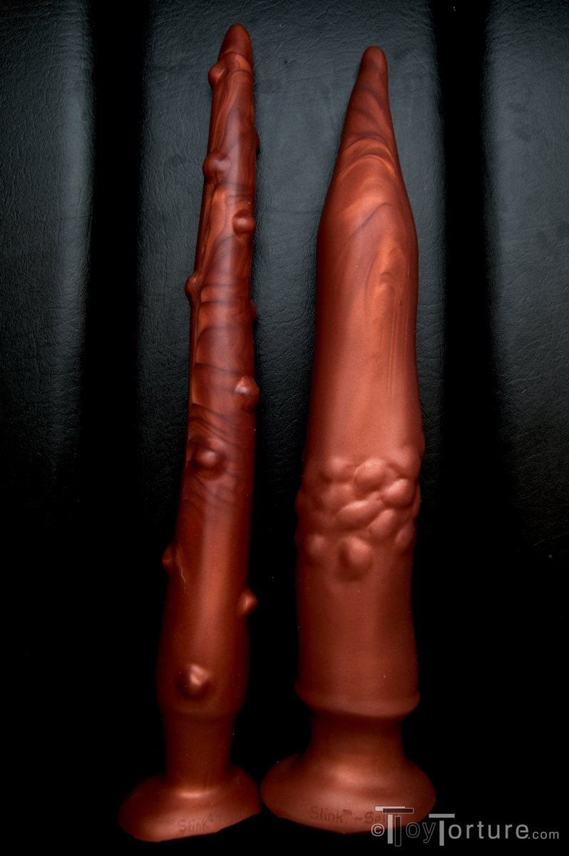 test Twitter Media - When anal play for you is mostly rolling in the deep or you are want to stimulate (or torment) your bottom's colon, take a look at my review of the @SquarePegToys Slink Tickler & Spike from @REGULATIONstore & @MrSLeather. Awesome toys for the depth savvy https://t.co/UDFEgHNLSd https://t.co/kLUFrlR2IX