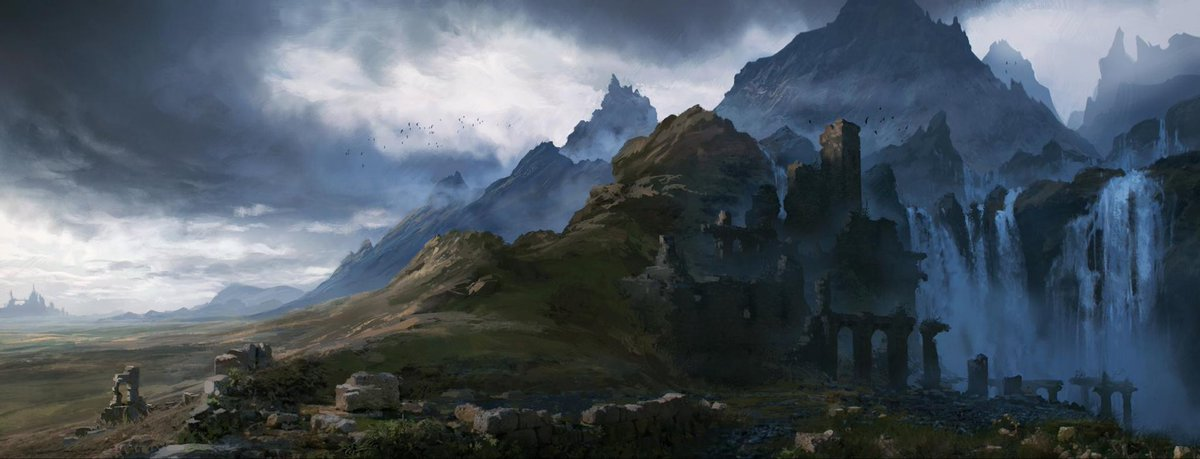 Rumored that at the edge of the old empire lies an artifact that protected the kingdom from 1000 years of attacks but the artifact was stolen, the empire fell, & now the artifact has reappeared  #rpgHook #dnd #rpg Ruins by Yatzenty on @DeviantArt https://t.co/xTJSVcN5Bm https://t.co/Gu3O9TFPgT